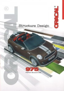 Oracal 975 Carbon, Structure Design Wzornik
